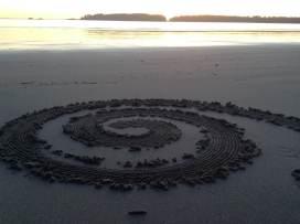 Tofino - sand spiral